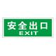 Luminous emergency evacuation signs-18-9
