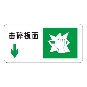 Luminous emergency evacuation signs-18-20
