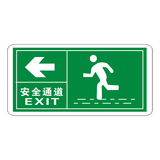 Luminous emergency evacuation signs-18-13