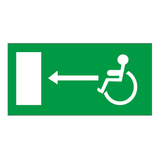 Luminous emergency evacuation signs -18-19