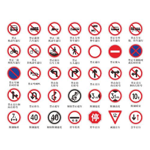 Prohibit series-Prohibit series