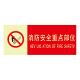 Fire safety signs -9-13