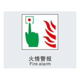 Fire safety signs -9-17