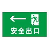 Luminous emergency evacuation signs -18-17