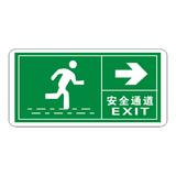 Luminous emergency evacuation signs-18-14