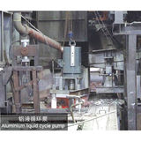 Aluminium liquid cycle pump