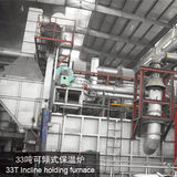 33T Incline holding furnace