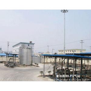 Heavy Oil Storage & LPG Gas Station-