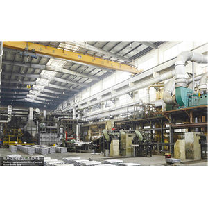 Casting ingot production line of annual 60000 Metric tons-