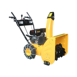 RH065D   6.5HP twin lamp snow blower operated at night in Northeast -RH065D