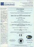 DIIE-CAST ALUMINIUM RADIATOR