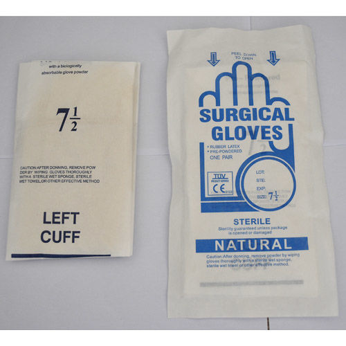 Latex Surgical Gloves-Latex Surgical Gloves