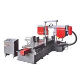 Automatic type double column horizontal angle metal band sawing machine-CH-400SA