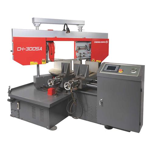 Automatic type double column horizontal angle metal band sawing machine-CH-300SA