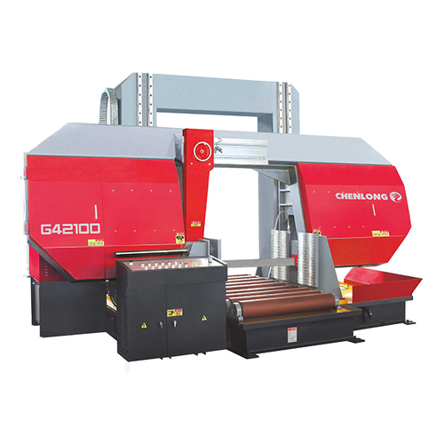 Double column Longmen horizontal metal band sawing machine-G42100
