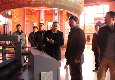 Yang Xiuqing, Secretary of the Jinyun county Party committee, visited the company to inspect the safety work