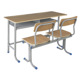 Double Desks and Chairs -FX-0258