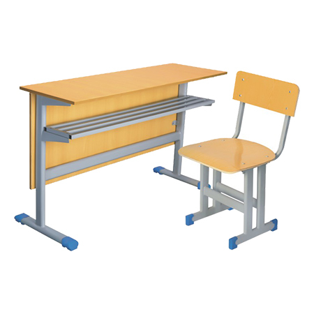 Double Desks and Chairs-FX-0148