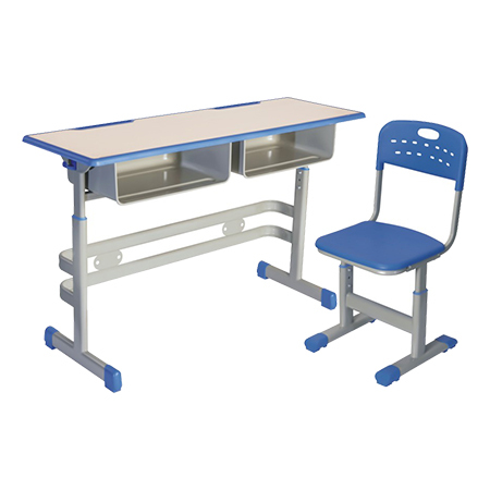 Double Desks and Chairs-FX-0248