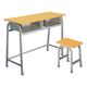 Double Desks and Chairs-FX-0145