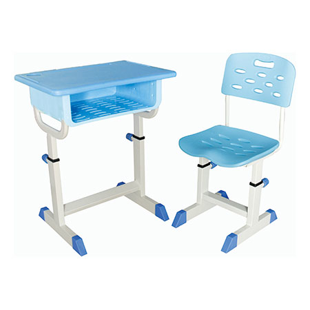 Plastic New Desks and Chairs-FX-0362