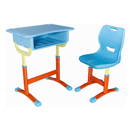 Plastic New Desks and Chairs-FX-0375