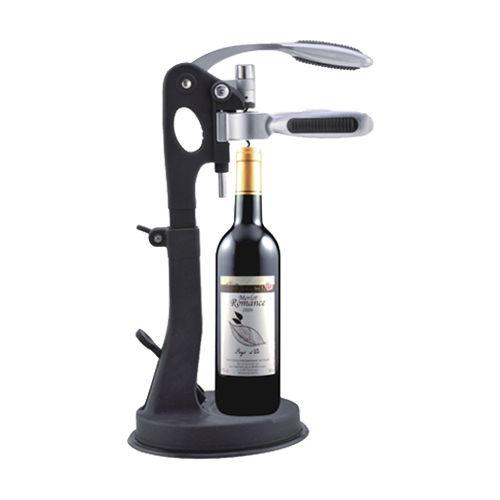 Deluxe wine corkscrew