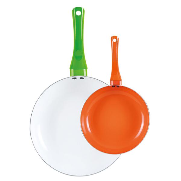 Color ceramic frying pan-HF-02