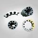 Junction piece motor-