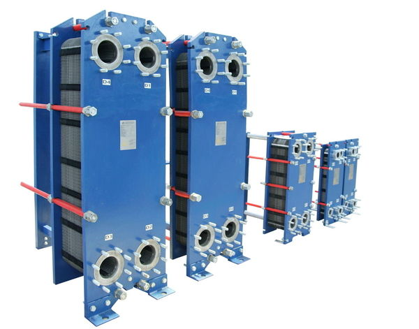 Detachable plate heat exchanger