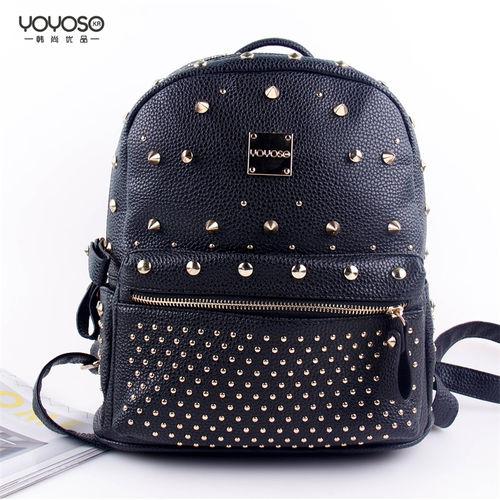 YOYOSO Fahshionable Rivet Backpack-