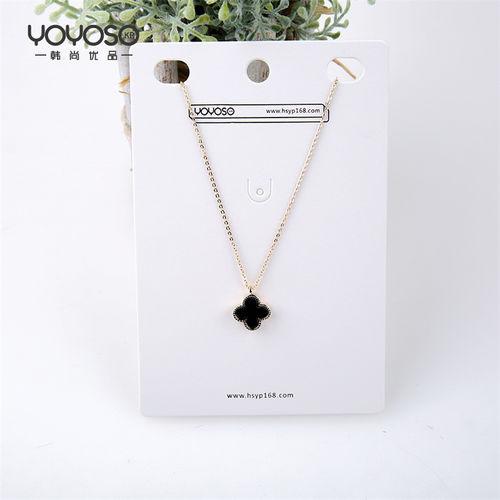YOYOSO Four Leaf Clover Necklace -
