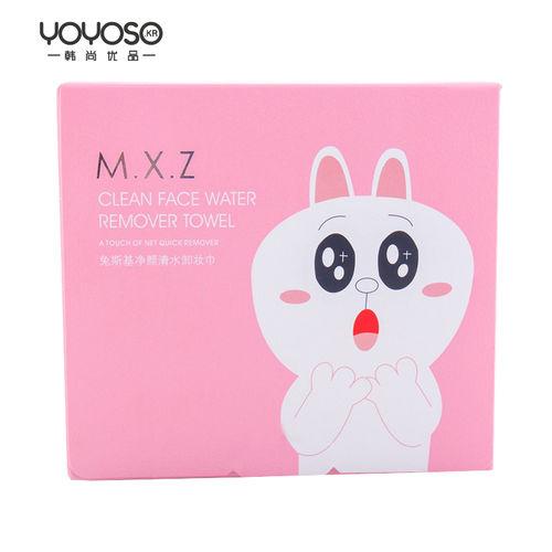 YOYOSO Lovely Rabbit series Makeup Remover Wipes-