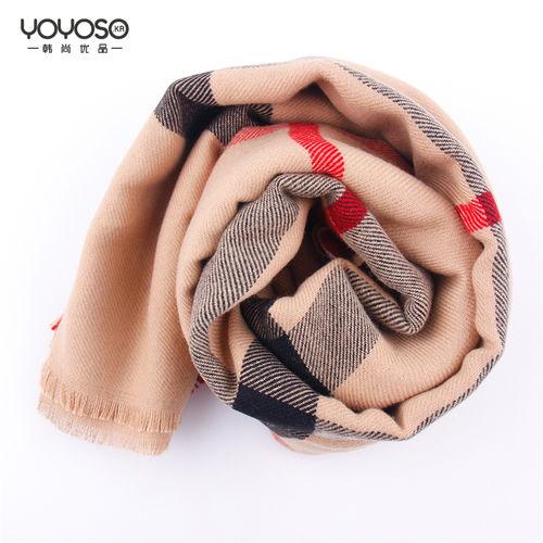 YOYOSO Simple Korean Style Scarf-