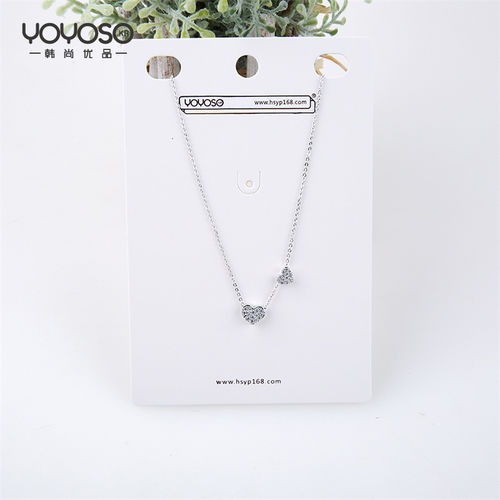 YOYOSO Double Heart Necklace-