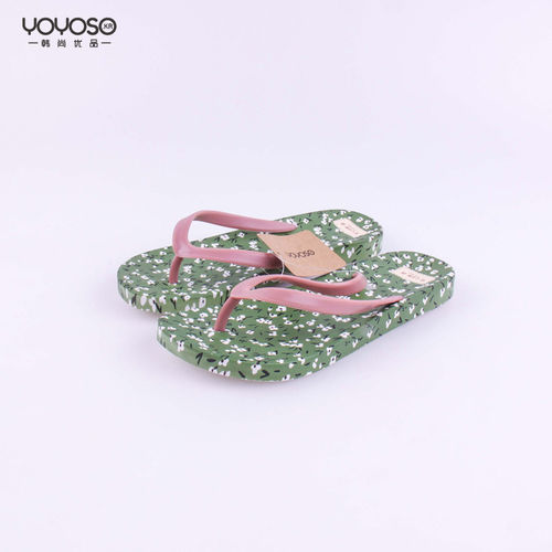 YOYOSO Flower Flip-flops-