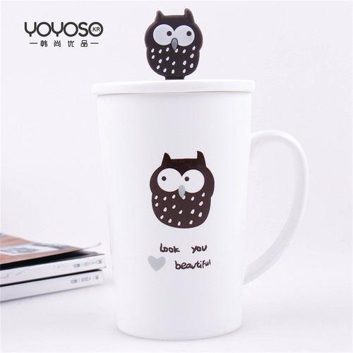 YOYOSO Owl Ceramic Cup-