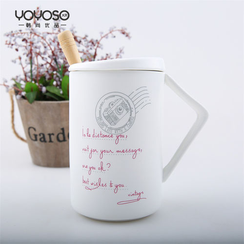 YOYOSO Fresh and Lovely Ceramic Cup-