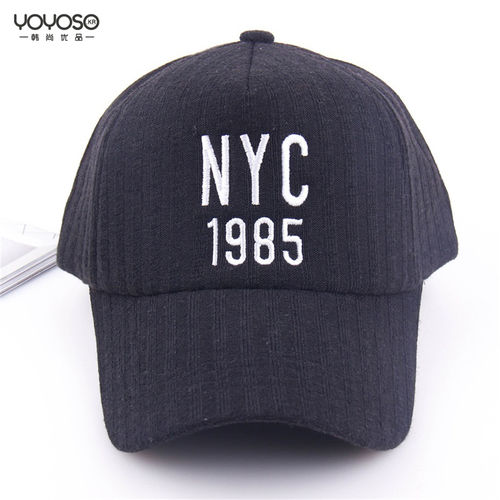 YOYOSO Simple Korean Style Baseball Cap-