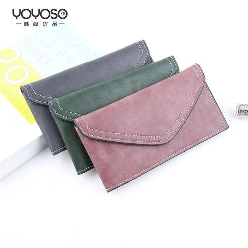 YOYOSO Simple Elegant Long Purse -