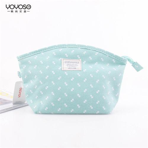 YOYOSO Fabric Bowknot Makeup Bag-