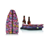Heart-Shaped Handle Six-Bottlt Beer Tote -FR-W006B