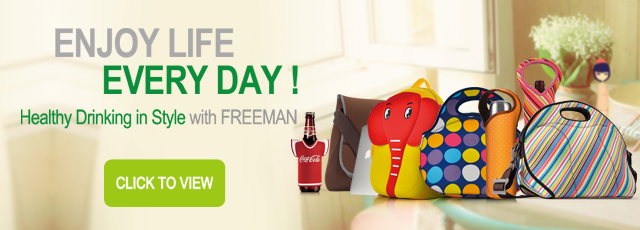 Healthy Drinking in Style with Freeman