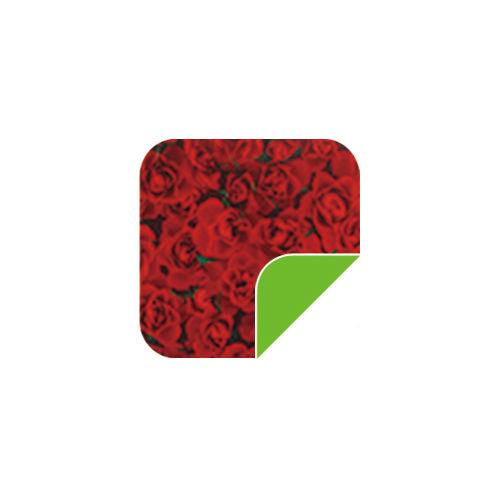 P028 Red Rose/Green-P028 Red Rose/Green
