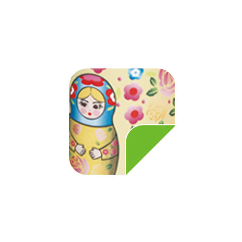P54 Yellow Russian doll-P54 Yellow Russian doll