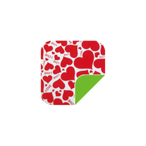 P040Lovely Red Heart/Green-P040Lovely Red Heart/Green