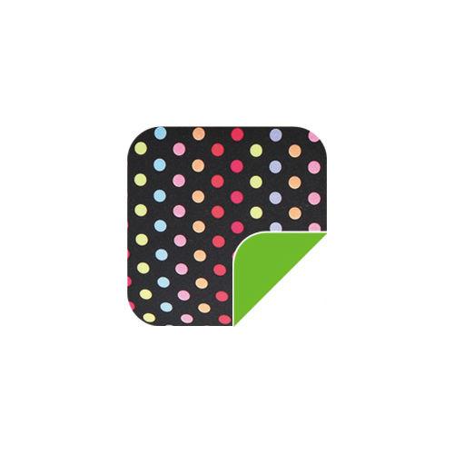 P008 Bkack Dots/Green-P008 Bkack Dots/Green