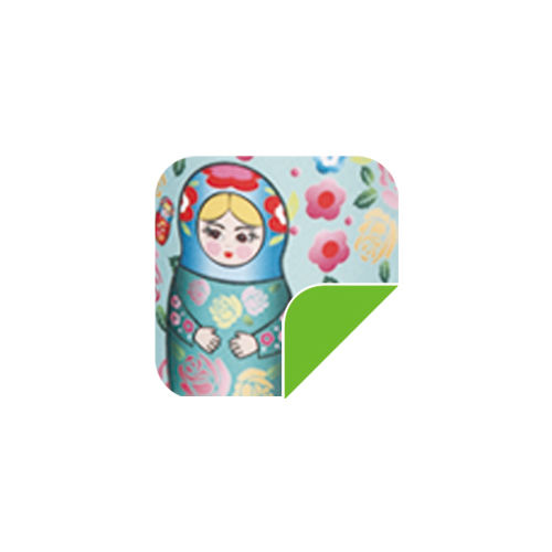 P56  Ligt Blue Russian doll-P56  Ligt Blue Russian doll
