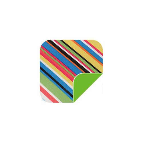P016 Diagonal Stripes/Green-P016 Diagonal Stripes/Green