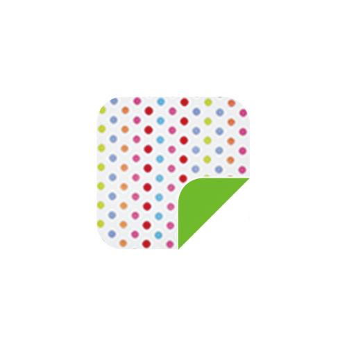 P008 White Dots/Green-P008 White Dots/Green